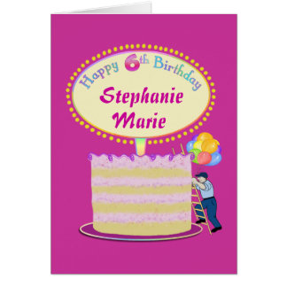 6th Birthday Girl