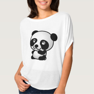 Girls Cute Panda Shirt