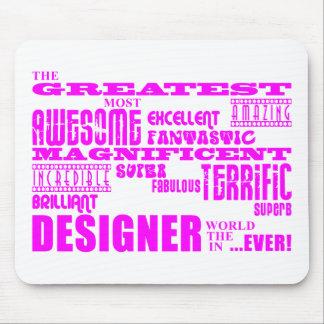 Girls Designers Birthdays : Pink Greatest Designer Mouse Pad
