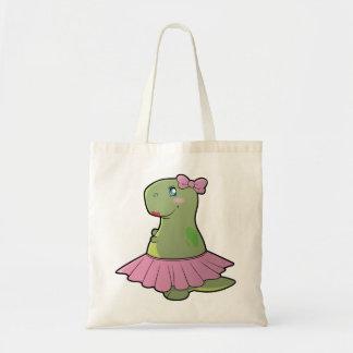 Girls Dinosaur T-Rex Tote Bag