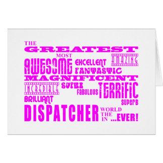 Girls Dispatchers : Pink Greatest Dispatcher Cards