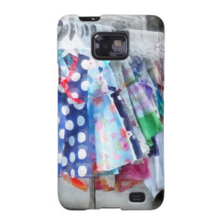 Girl's Dresses at Street Fair Samsung Galaxy Cases
