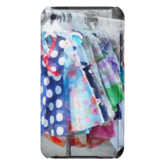 Girl's Dresses at Street Fair Barely There iPod Case