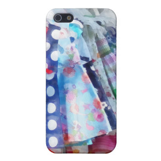 Girl's Dresses at Street Fair iPhone 5 Cover
