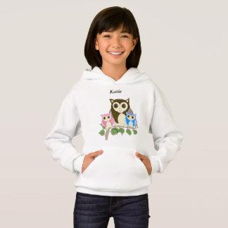 Girls editable Owl