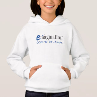 Girl's Emagination Computer Camps Logo Hoodie