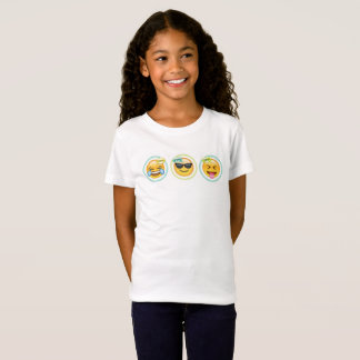 Girls Emoji T-Shirt