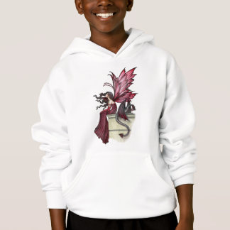 Girls Fairy Dragon Sweatshirt by Molly Harrison