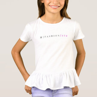 Girl's Fashionista Ruffle Shirt