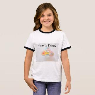 Girls Fidget Spinner T-Shirt