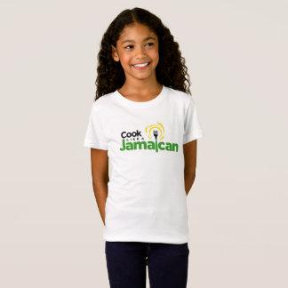 Girl's Fine Jersey Cotton T-Shirt