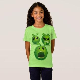 Girls' Fine Jersey T-Shirt Alien