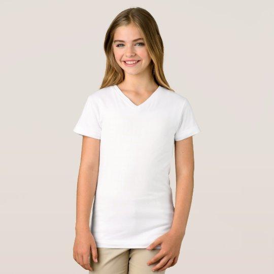 Fine Jersey V-Neck T-Shirt, White