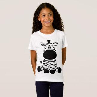 Girls Fine Jersey Zebra T-Shirt
