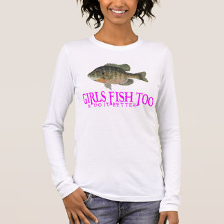 GIRLS FISH TOO LONG SLEEVE T-Shirt