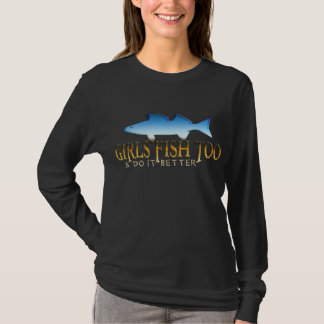 GIRLS FISH TOO WALLEYE T-Shirt