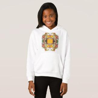 Girls' Fleece Pullover Hoodie