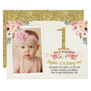 1st birthday invitations zazzle uk .