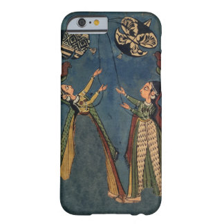 Girls flying kites, Kulu folk painting, Himachal P Barely There iPhone 6 Case