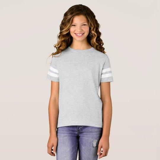 Football Shirt, Heather Grey