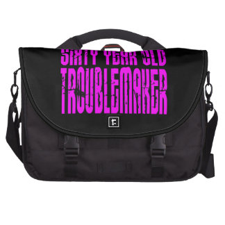Girls Funny Birthdays Sixty Year Old Troublemaker Bag For Laptop