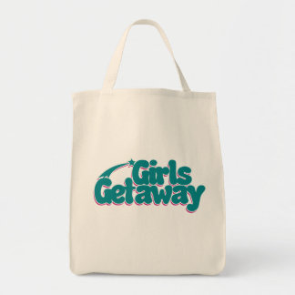 Girls Getaway Grocery Tote Bag