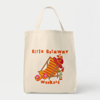 Girls Getaway Weekend T-shirts and Gifts Grocery Tote Bag