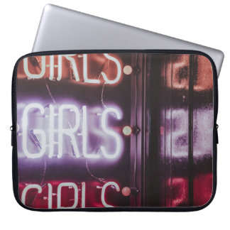 Girls girls girls laptop sleeve
