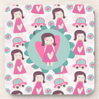 Girls Going Places Coaster