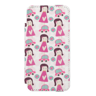 Girls Going Places Incipio Watson™ iPhone 5 Wallet Case