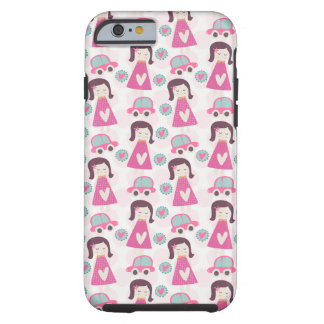 Girls Going Places Tough iPhone 6 Case