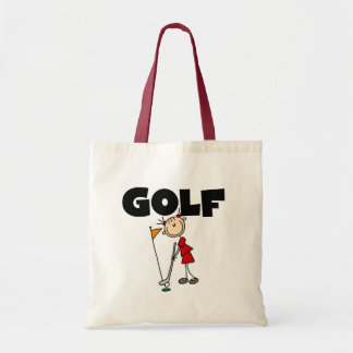 Girls GOLF T-shirts and Gifts Canvas Bags