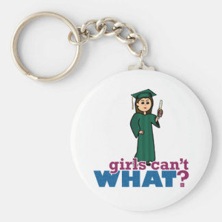 Girls Graduation Key Chains