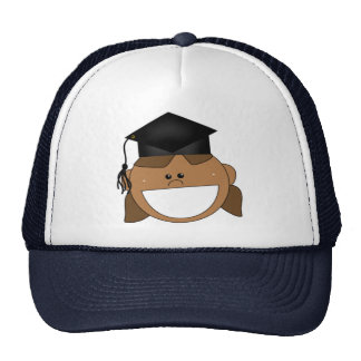 Girls Graduation T-shirts and Gifts Mesh Hats