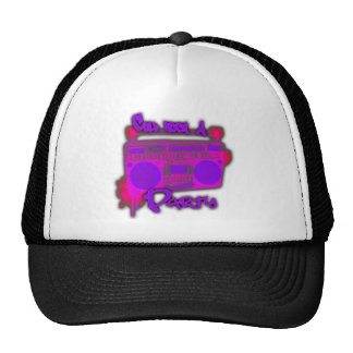 Girls guys old school 80s rap t shirt hat sticker