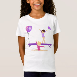 Girls gymnastic tee shirt