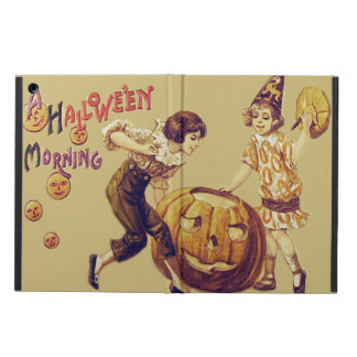 Girls Halloween Party Jack O' Lantern Pumpkin iPad Air Cover