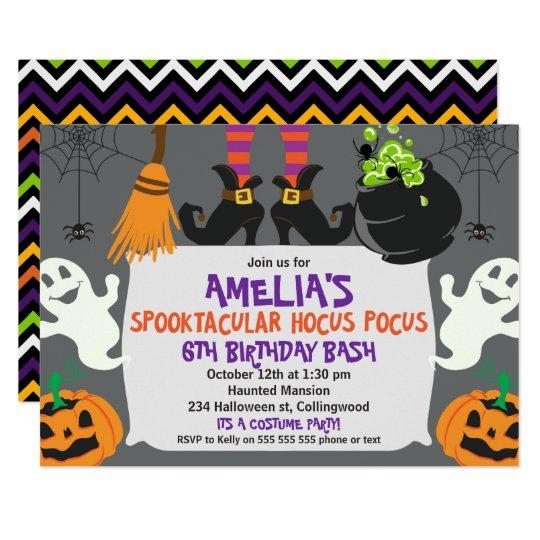 Horse Birthday Invitations Announcements Zazzlecouk - Halloween birthday invitations uk