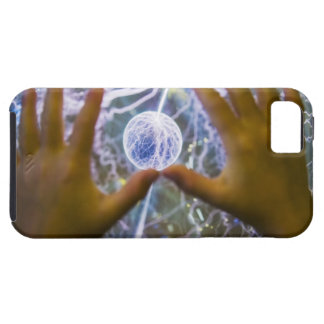 Girls hands on a plasma ball tough iPhone 5 case