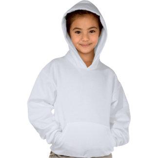 Girls' Hanes ComfortBlend® Hoodie/Pumkin with Blac Hooded Sweatshirts