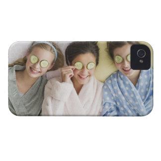 Girls having a facial Case-Mate iPhone 4 case