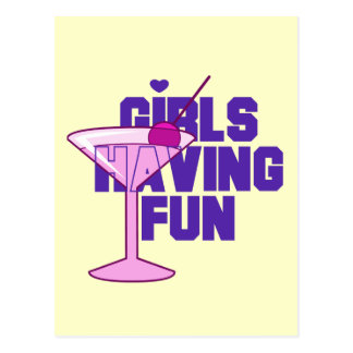 Girls Having Fun Bachelorette Tshirts and Gifts Postcard