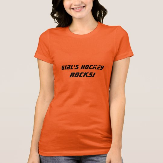 Girl's Hockey ROCKS! T-Shirt