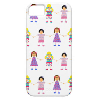 Girls Holding Hands iPhone 5 Case