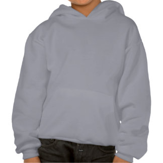 "Girls hoodie- btterfly w ""Don't hate me, Cuz' you Hooded Pullover"
