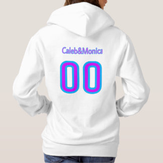 (Girls hoodie) with Caleb Monica's logo Hoodie