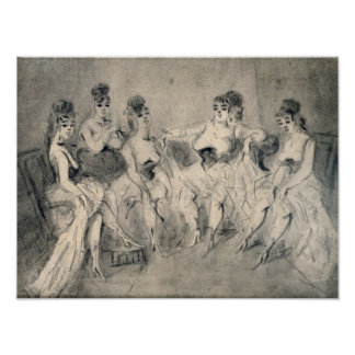 Girls in a Bordello Poster
