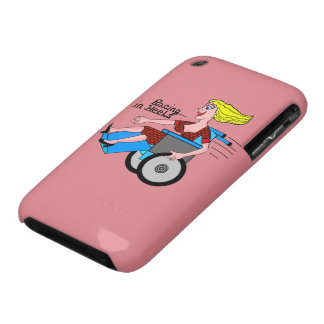 Girls in Heels need Wheelchairs Case-Mate iPhone 3 Case