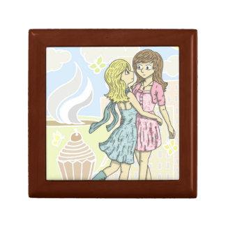 Girls in Pastel Gift Box