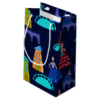 Girls in town small gift bag